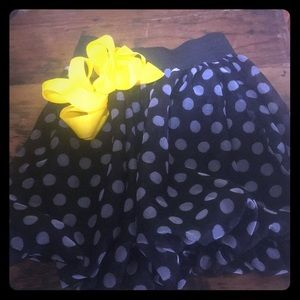 Polka Dot Skirt Girls Size 6